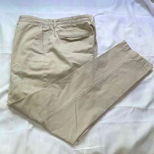 J.crew broken in 770 khaki pants